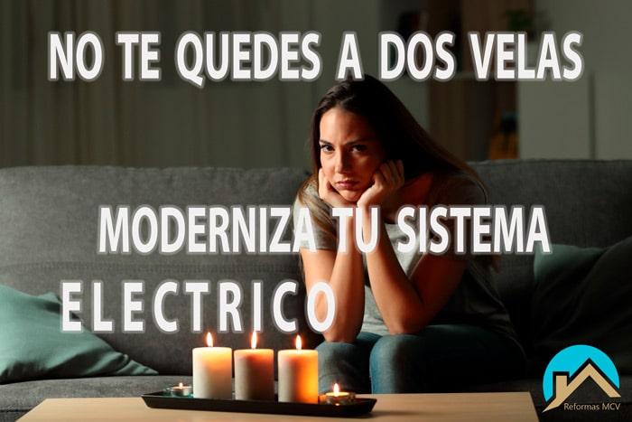 Electricistas en Madrid, modernización sistemas eléctricos