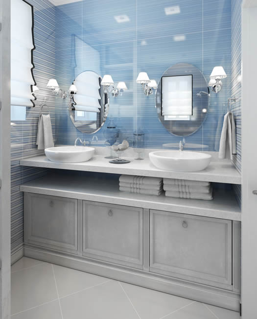 Baldas para lavabo