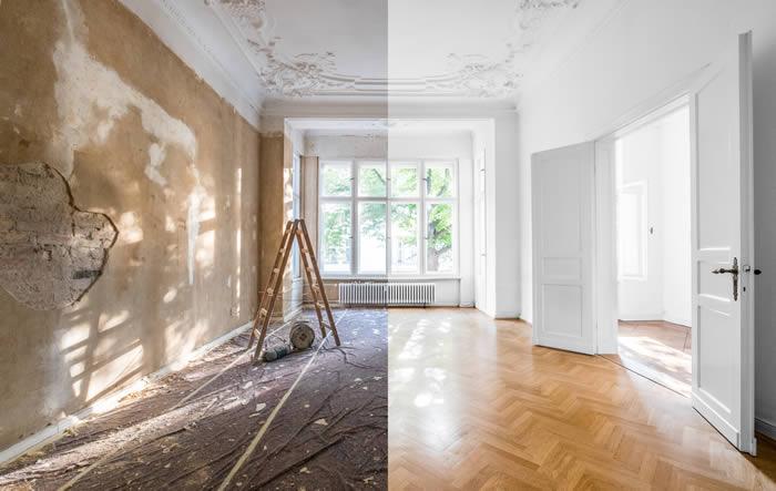 como pintar las paredes en 4 pasos