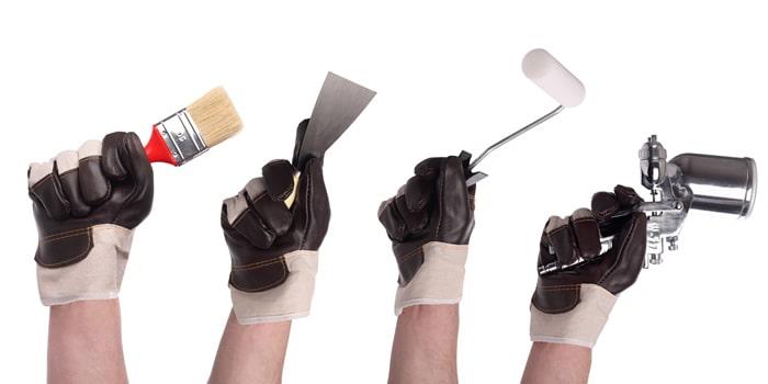 preparacion para pintar techo